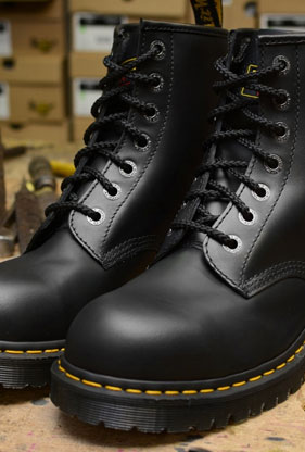 Dr. Martens Steel Toe Footwear