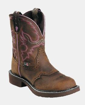 Justin Original Work Boots 8 Gypsy Round Toe ST