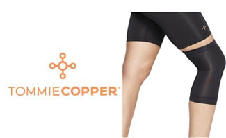 Tommie Copper Recovery Compression Knee Sleeve